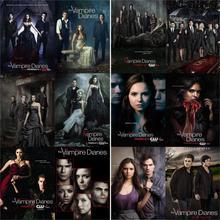 Posters de diarios de vampiros, impresiones de papel brillante, alta definición, buena calidad, Color vivo, decoración del hogar, envío gratis