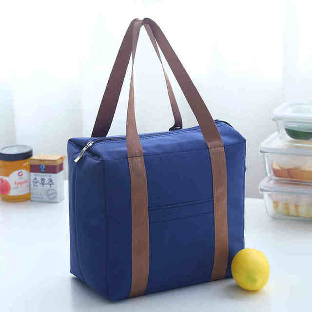 Super quality portable lunch bag thicker oxford Thermal bag Car cooler box waterproof  cooler bag bolsa termica