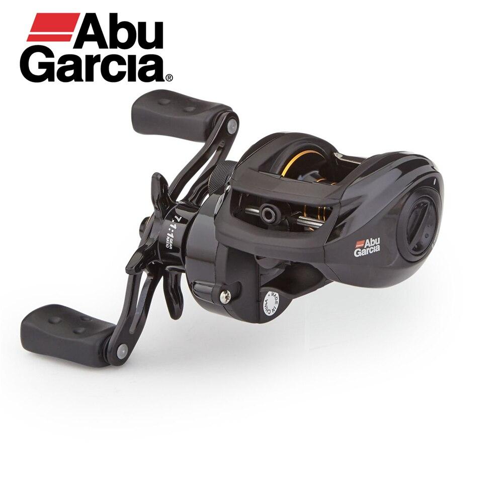 Abu Garcia Pro Max 7,1: 1 высокая скорость 8 кг Высокая мощность алюминиевый сплав корпус Baitcaster MagTrax тормозная мощность диск Приманка литья Катушка