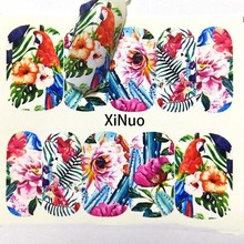 nail stickers Beautiful flowers Nail Sticker Colorful Water Transfer Nail Decorations UV Gel Polish DIY Decals A05/A06/A07/A08 quying laptop lcd screen 15 6 inch 1366x768 for samsung samsung series 3 np350v5c a01 a02 a03 a04 a05 a06 a07 a08 a09 series
