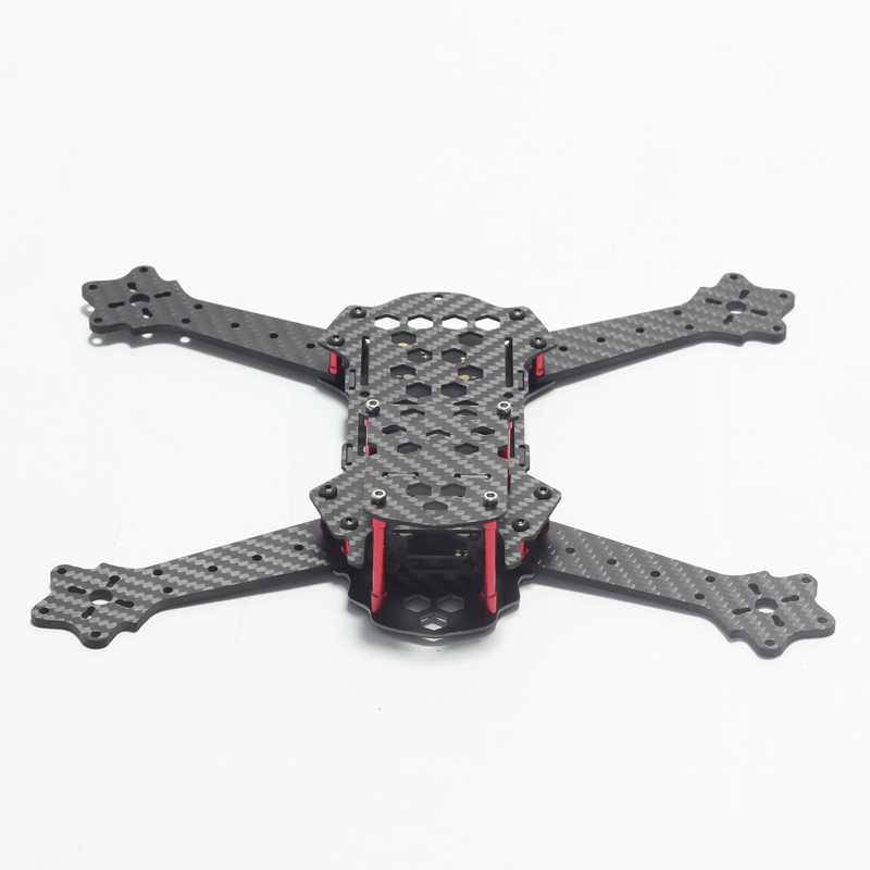 FEW250 Honeycomb PK QAV250 FPV Mini 4 Axis Quadcopter Drone Full Carbon Fiber Frame with 5V 12V BEC PDB Center for DIY Mini FPV zmr250 250mm carbon fiber 4 axis 250 mm fpv quadcopter mini h quad frame for qav250