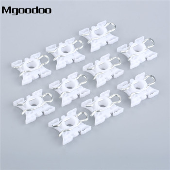 10PCS Auto Car Window Lift Sliding Pivot Regulator Clip Fastener 3509416 N31 Fit For BMW E36 E32 E34 325i 328i 525i 535i image