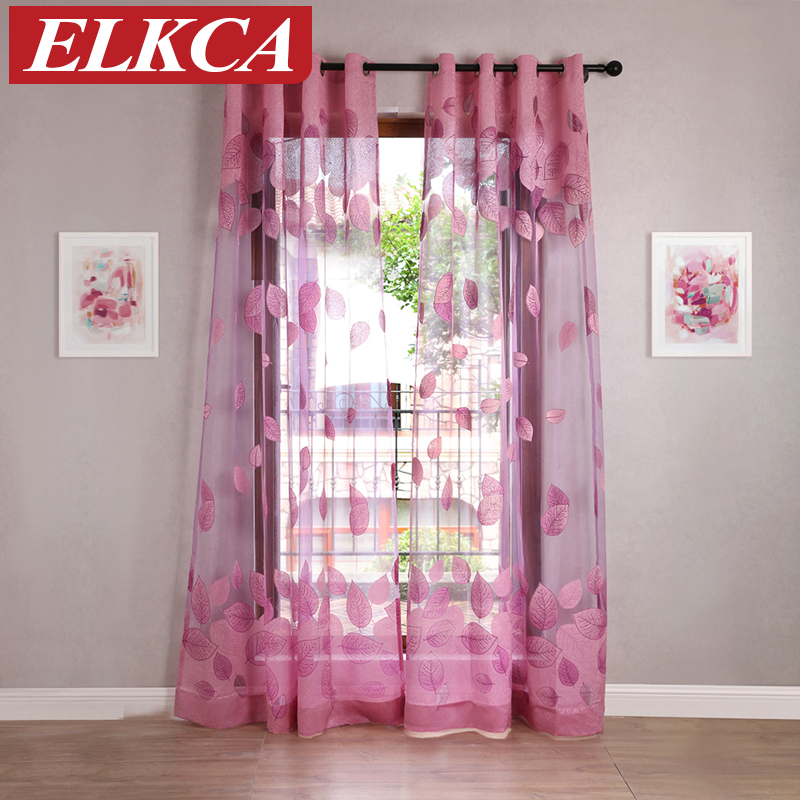 Purple Curtains For Bedroom Living Room Burnout Purple Tulle Curtains For Living Room Luxury Window Curtains