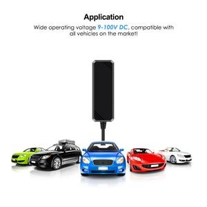 Image 2 - 미니 gps 트래커 자동차 gps 트래커 방수 ip65 google지도 실시간 트랙 충격 컷 라인 알람 gps 로케이터 지오 펜스 무료 app