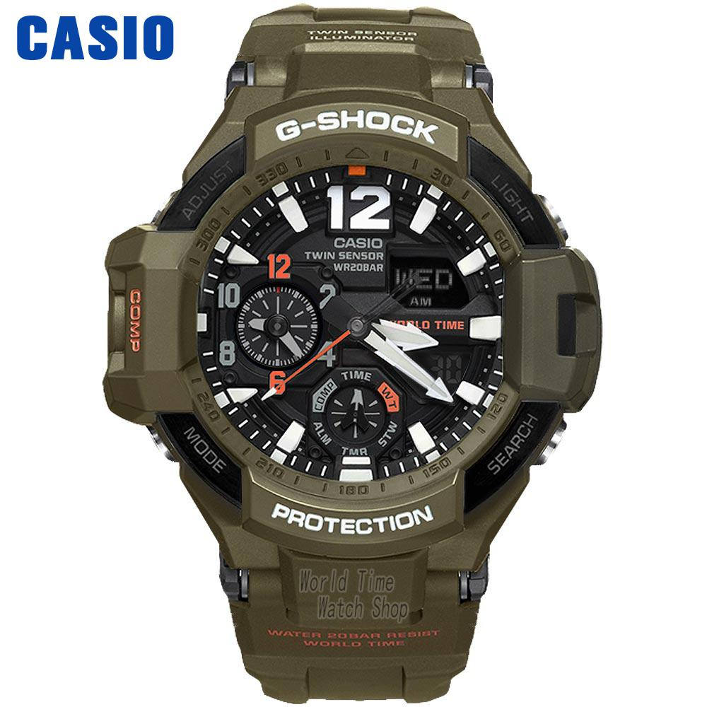 Casio WATCH fashion multi-functional sports male watch GA-1100KH-3A GA-1100RG-1A casio ga 500p 3a