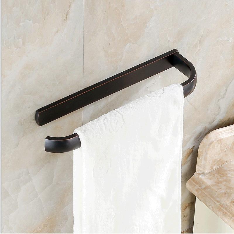 European Antique Bathroom Accessories Copper ORB Single-layer Towel Bar clean and elegant bathroom towel bar serves a full european antique copper bathroom accessories 606r