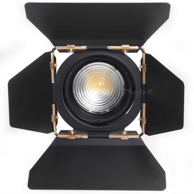 ASHANKS 100W LED Holofotes Fresnel Estúdio com Dimmer 3200-5500K Lâmpada de Iluminação para Estúdio de Fotografia Foto Da Câmera vídeo