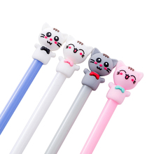 1pcs/lot 0.5mm Black Core Cute Lucky Cat Modeling Gel Pen For School Writing Office Supplies Stationery