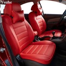 Yuzhe (2 مقاعد الجبهة) السيارات السيارات غطاء مقعد السيارة لشركة هيونداي ix35 توكسون سولاريس creta i30 لهجة إلنترا اكسسوارات السيارات