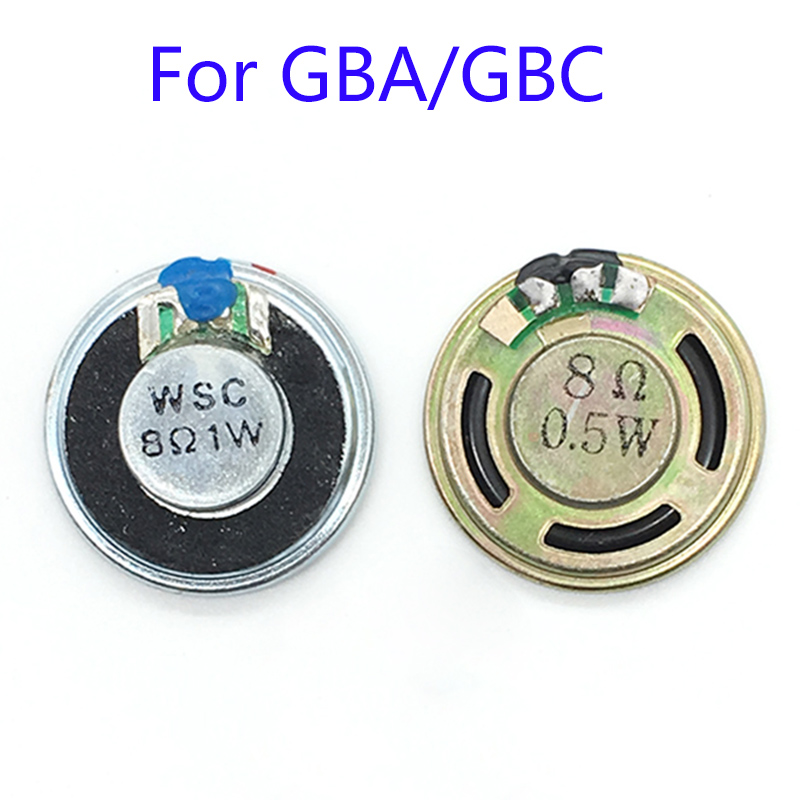 2PCS Brand New Speakers For Nintendo Gameboy Color GBC Gameboy Advance GBC GBA LoudSpeaker