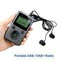 Portable DAB Radio FM Stereo Digital Radio Receiver TF Card MP3 Player Pocket Radio Station PPM001 Y4107H