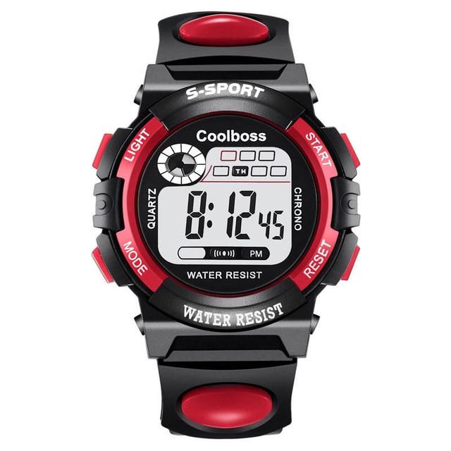 Sport Student Children Watch Kids Watches Boys 4X Clock Child LED Digital Wristw