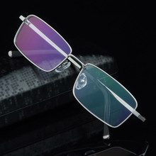 High quality Men full rim Pure Titanium eyeglasses frame myopia glasses frame comfortable eyeglasses frame Eyewear Spectacle