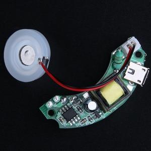 Image 4 - มินิUSBอากาศความชื้นอุปกรณ์แผงวงจรละออง5โวลต์การสั่นA Roma D Iffuserน้ำมันหอมระเหยอัลตราโซนิกMakerหมอก