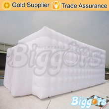 Free shipping white commercial inflatable play house tent for home event use