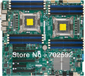 Original suporte Xeon Server Board X9DAI E5 Xeon E5-2600 CPU