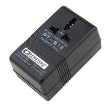 100 Вт 60 Гц автомобильный адаптер преобразователя питания 110 В/120 В до 220 В/240 в двойной адаптер преобразователя Напряжения