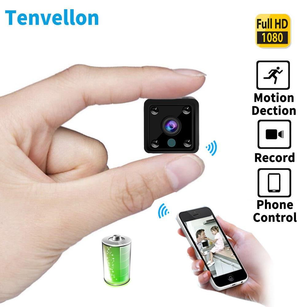 Mini Wifi IP Kamera 1080 P CCTV Überwachung Smart Home Security Kameras drahtlose Gebaut in Batterie IR Audio camara de seguridad