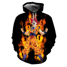 Dragon Ball Hoodies Sweaters (2019 Model)