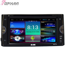 Topnavi Quad Core Android 4.4 Car Radio Stereo GPS Navigation for Toyota Corolla Car DVD Multimedia Audio Player
