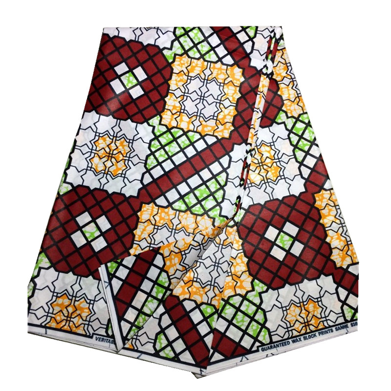 Online Shop Indian Style 100 Cotton Shiny Color Java Wax Print