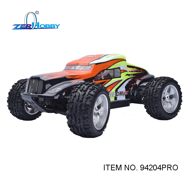 HSP RC RACING CAR BREAKER 1/10 SCALE PROFESSIONAL BRUSHLESS 4WD OFF ROAD MONSTER SAND RAIL TRUCK (ITEM NO. 94204PRO) rc car hsp flying fish 1 10 brushless on road rally racing 4wd rtr item no 94103top2