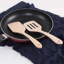 1 шт. натуральная здоровая бамбуковая деревянная кухонная рисовая лопатка для перемешивания держатель ложки кухонная утварь обеденная пищевая лопатки для вока-турнеров