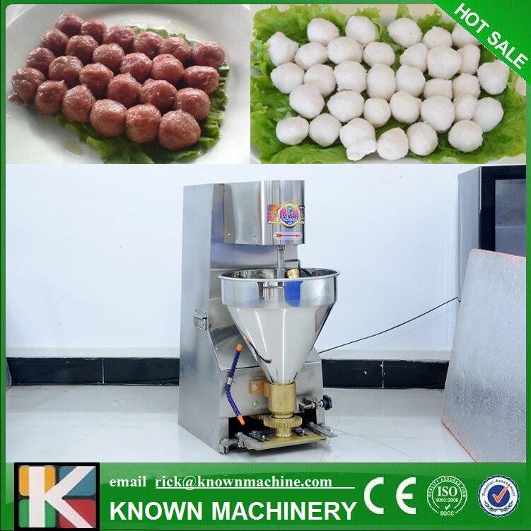 Hot Sale Desktop Kitchen Chicken Meatballs/beef Ball/fish Ball Machine With Door To Door Serve