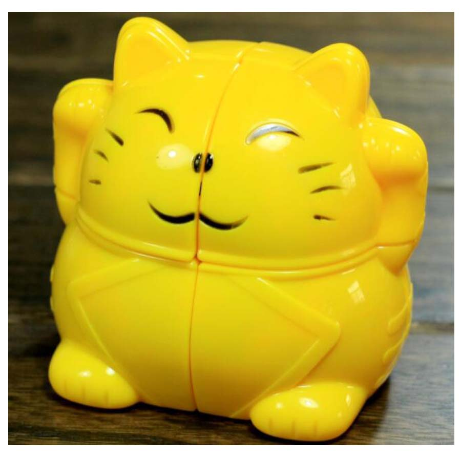 Puzzles & Games Conscientious Lucky Cat Magic Cube 2x2 Strange Shape Cube Primary Zhaocai Cat Educational Toy Special Toys Toys & Hobbies