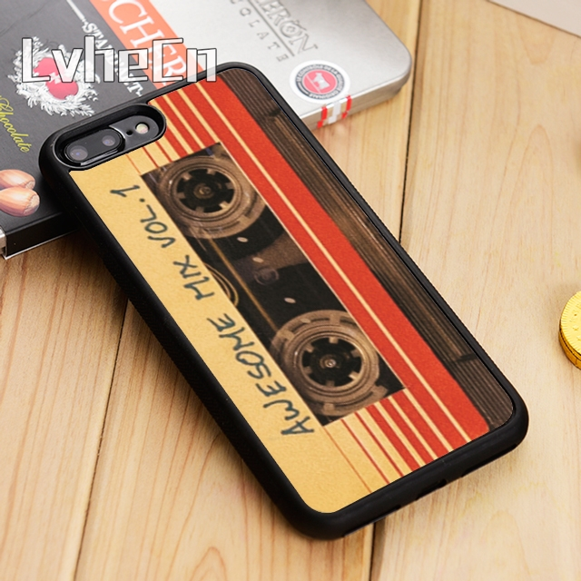 LvheCn Awesome Mix Vol 1 compact cassette tap Phone Case Cover For iPhone 11 Pro X