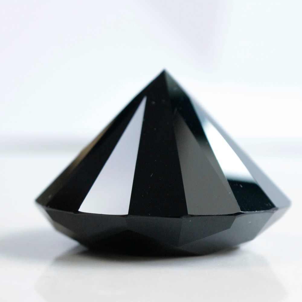 شحن مجاني 6 سنتيمتر الطبيعة الأسود الكريستال حجر السج الماس الطاقة أحجار استشفاء المنزل الديكور الحلي الحرف