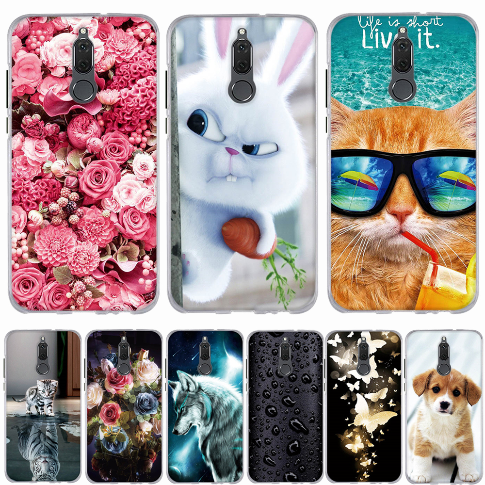 Case For Huawei Mate 10 Lite / Mate 10 Pro Case Silicone Soft Coque For Huawei Nova 2I Case Cover For Huawei Mate 10 Cover