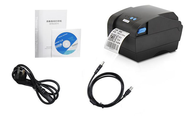 Thermal - sensitive bar code printer Self adhesive label machine 80mm supermarket direct thermal printing label code printer