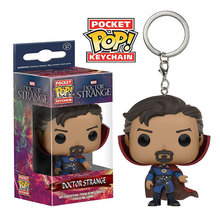 Funko pop Marvel Super Hero Doctor Strange pocket pop keychain pvc Action figure model Collectible Toys for Children gift(China)