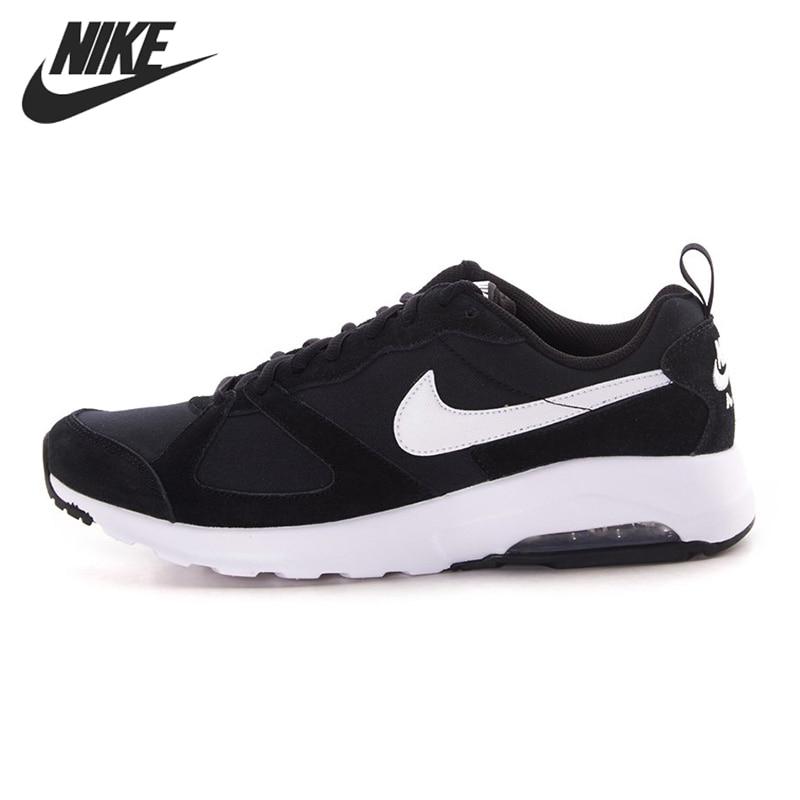 nike air max muse black running shoes
