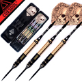 New CUESOUL 23g 25g 27g Professional Steel Tip Darts Golden And Black Dart Body With Dart Flights