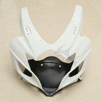 Motorcycle ABS Unpainted Front Upper Fairing Cowl Nose For Suzuki GSXR 600 750 2006 2007 K6
