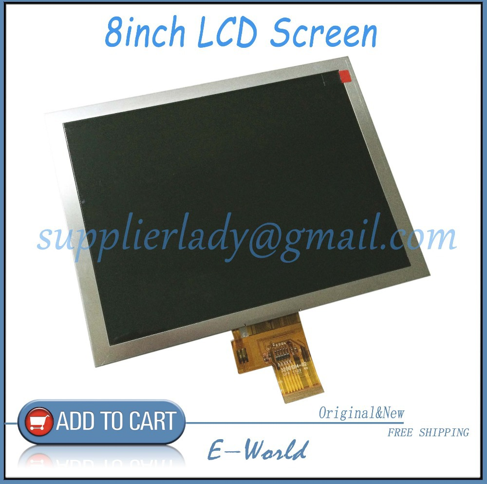 Original and New 8inch LCD Screen for Explay M2 tablet 1024x768 IPS LCD Display Panel Replacement Free Shipping 6 lcd display screen for onyx boox albatros lcd display screen e book ebook reader replacement