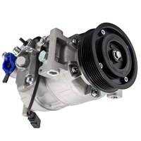 Auto AC A/C Compressor 6PK 110mm 12V 6SEU14C For Audi A4/A6 2.4 V6 2004 2009 8E0260805AT,4F0260805AC