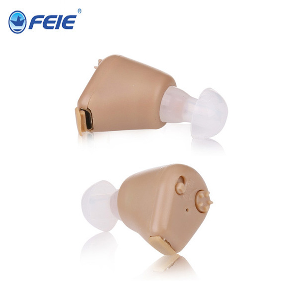 FEIE S-216  Rechargeable Sound Enhancement ITE Hearing Aid Listen up Deaf Aid tools for home Best Freeselling feie mini rechargeable hearing aid usb charger computer ajustable tone ear listen device s 109s drop shipping