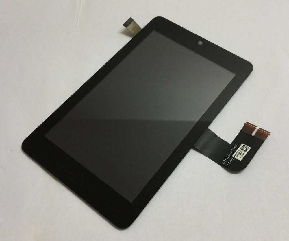 עבור Asus תזכיר Pad HD7 ME173 ME173X K00B (LCD עבור LG מהדורה) LCD תצוגת צג פנל מסך מגע מסך זכוכית הרכבה מסגרת