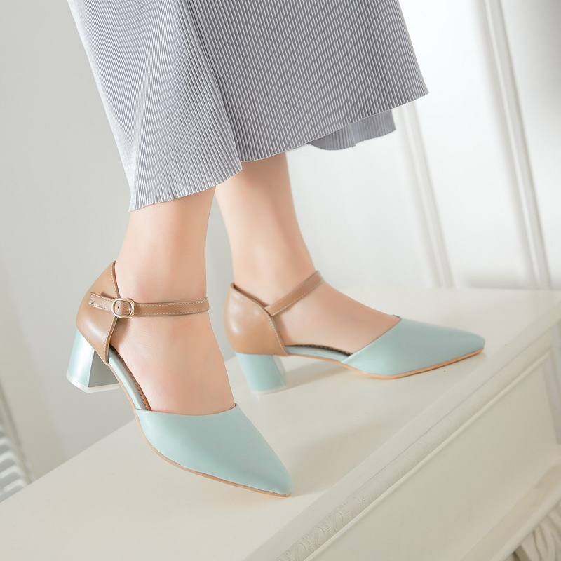 Plus Big and Small  Size 29- 47 Sandals  Ladies Platforms lady Fashion Dress  Pointed toe shoe High Heel Shoes Women Pumps 7391 plus big size 34 52 shoes woman 2017 new arrival wedding ladies high heel fashion sweet dress pointed toe women pumps e 177