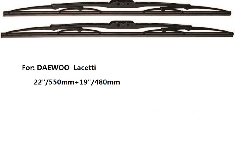 22 19 High Quality Exceed of Car windshield traditional wiper blade for DAEWOO font b Lacetti