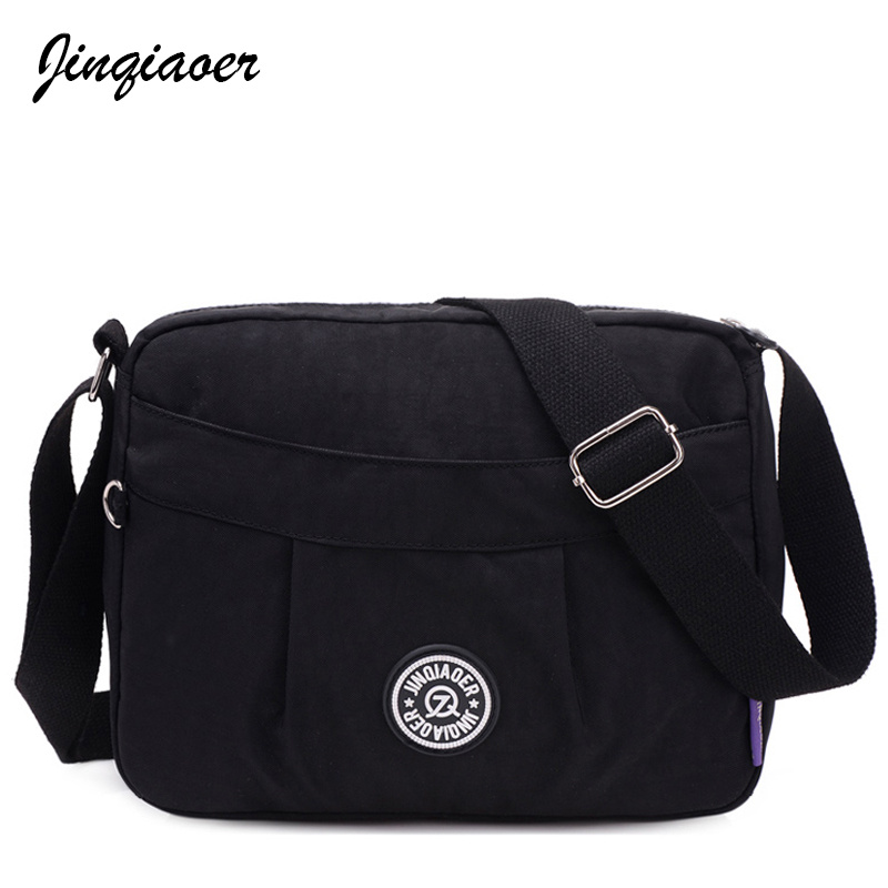High Quality Women Messenger Bags Fashion Ladies Waterproof Nylon Multi-function Crossbo ...