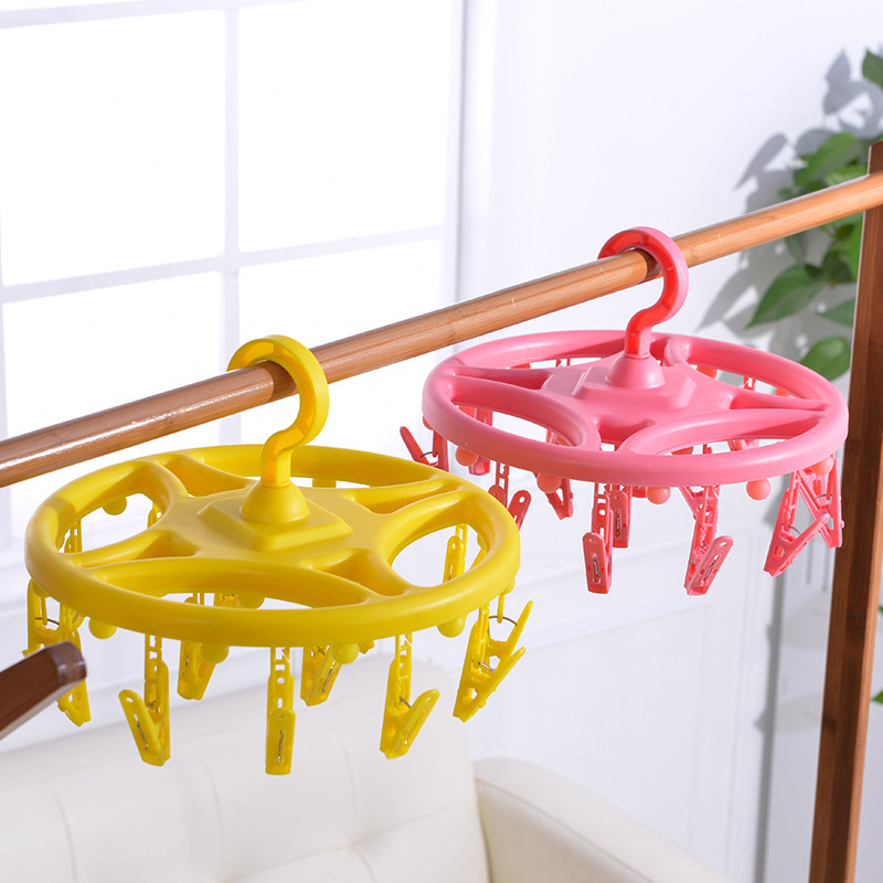 Clothes rack lamp LED photo clip creative decoration hanger lamp indoor balcony decoration