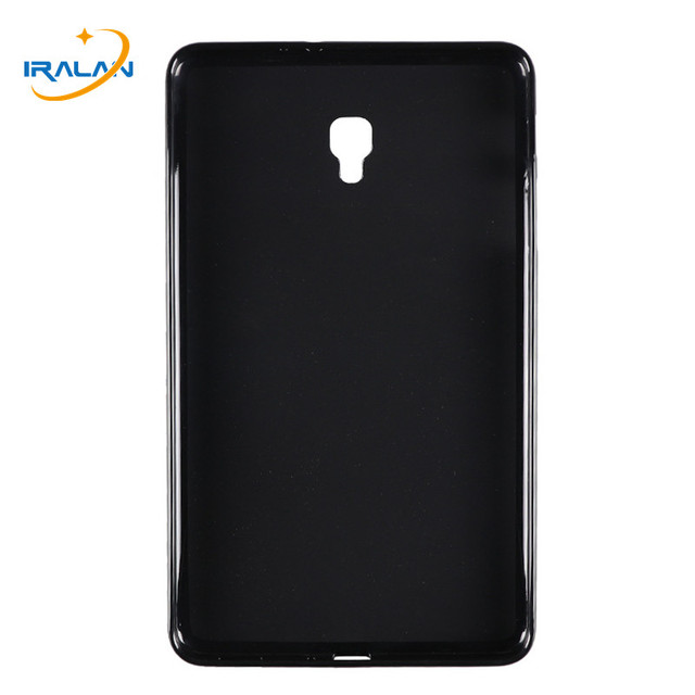 Новый чехол для телефона из мягкого силикона ТПУ с рисунком чехол конфетного цвета для Samsung Galaxy Tab A 8,0 2017 T380 T385 SM-T380 Прозрачная Тонкая задняя крышка + стилус