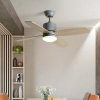 Eusolis Nordic Led Ceiling Fans With Lights Indoor Ventilateur Lamp Fan Light Ventilador De Teto Moderno Tavan Pervanesi