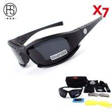11c7793cf6 X7 militar ejército de tiro juego de guerra gafas UV400 protección  senderismo Tactical seguridad gafas deportivas
