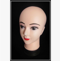 New arrival!!Good Looking Lovely Face Model Head Child Mannequin Head For Display Hat, Glass In Store
