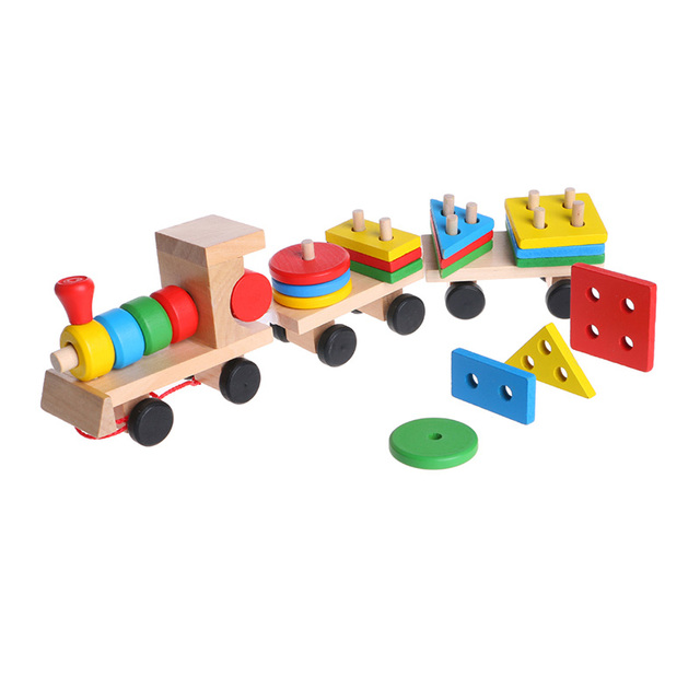 Toy Train Set for Toddlers